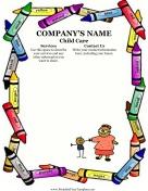 Sample Flyer For Child Care