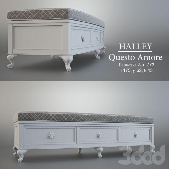 Банкетка, HALLEY_Questo Amore_art.733