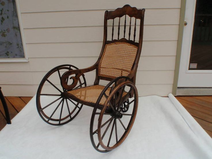 Dupree S Gendron Vintage Antique Three Wheel Wicker