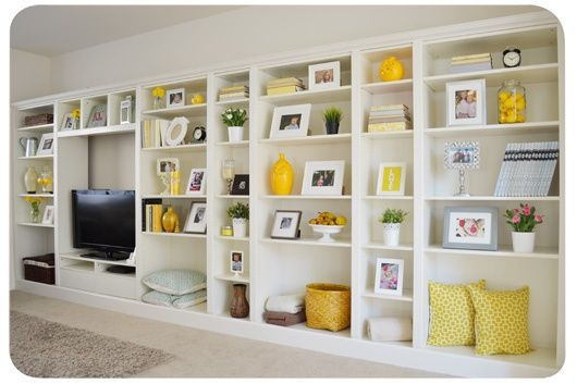 built in Billy bookcase - IKEA bookcases with instructions