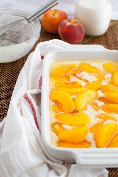 Персиковый коблер / Вкусные привычки