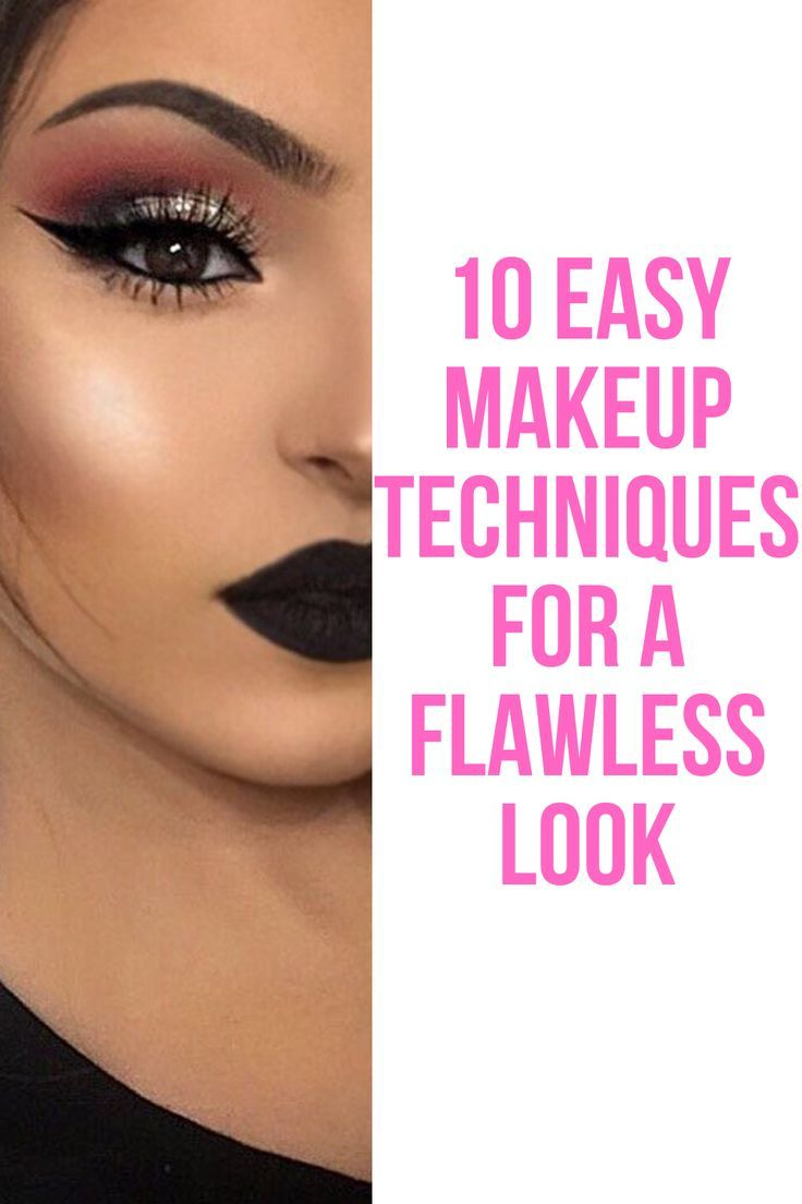 12 Easy Makeup Techniques for a Flawless Look  Makeup techniques