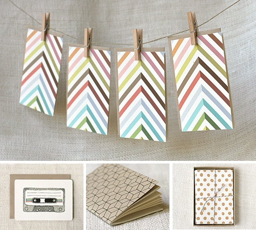 stationery #patterns: Christmas Cards, Chevron Patterns, Patterns Rocks, Stationery Patterns, Cute Cards, Cards Ideas, Stylish Cards, Note Cards, Chevron Cards