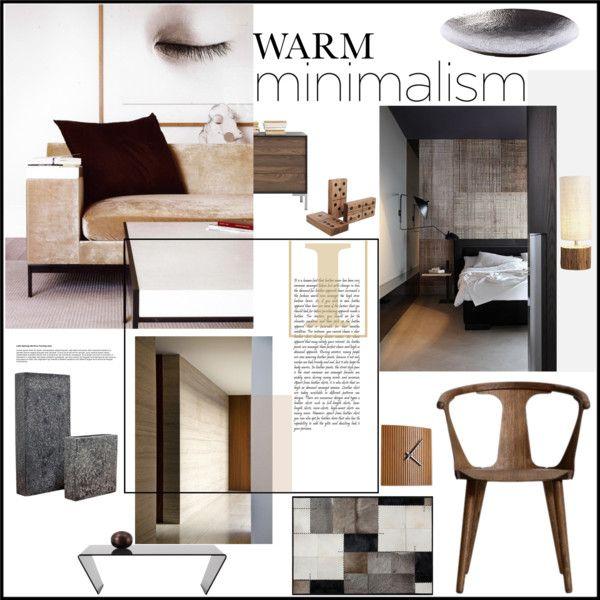 """""""Warm Minimalism Set 1"""" by szaboesz on Polyvore"""