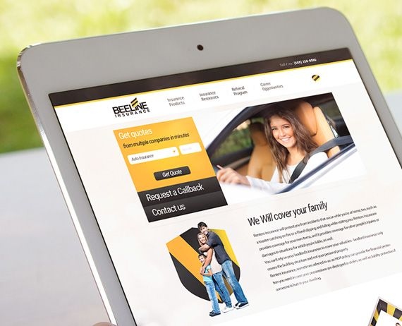 Beeline Website Design