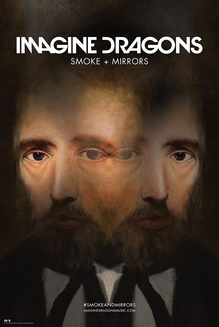 Smoke + Mirrors Exclusive Lithograph | Imagine Dragons