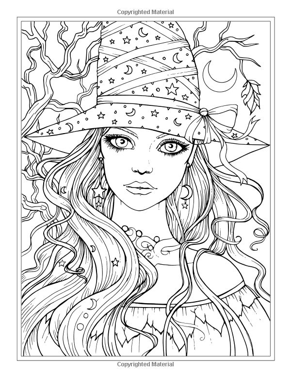 626 best Coloring pages portraits for grown ups images on