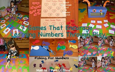 7 Ways to Learn Numbers Through PlaySight Words, Hop Ideas, Kids Moving, Posh Lil, Fun Ideas, Fish Games, Plays, Lil Divas, Learning Numbers