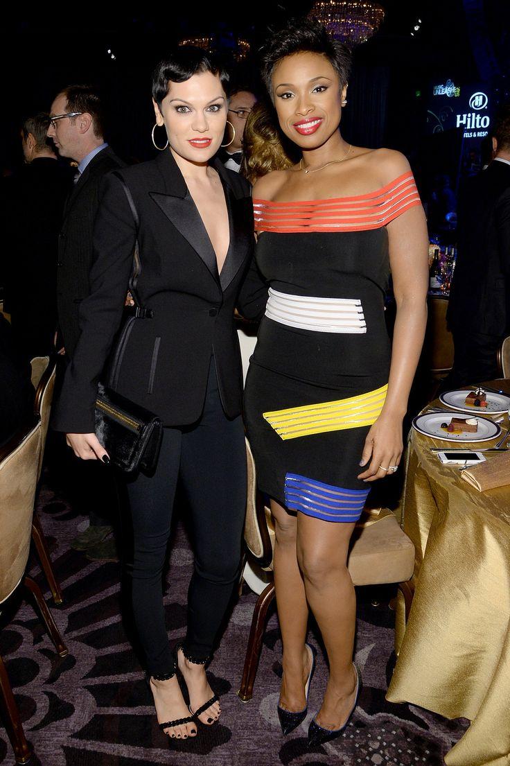 Jennifer Hudson and Jessie J