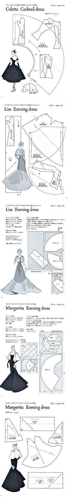 Clothing for Barbi.Vykroyki ..
