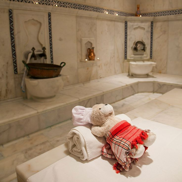 No stay in Istanbul is complete without experiencing a traditional Turkish hamam. Leisure-loving Chef Teddy will surely tell all his friends in Teddyland about it! #ChefTeddy