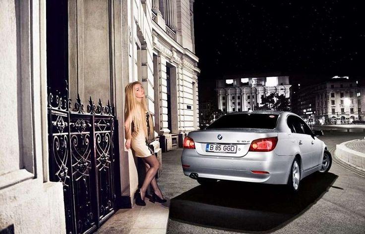 BMW E60 & Girl