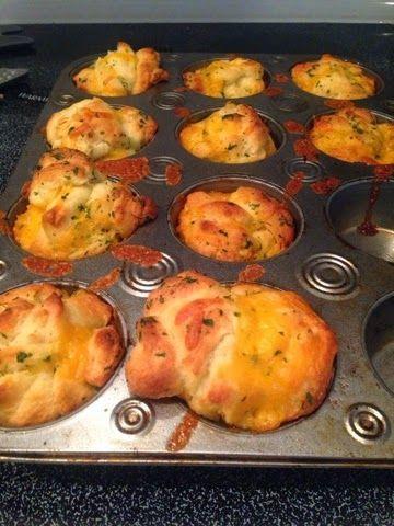 Wünsche werden wahr …: Knoblauch Cheesy Biscuits Knoblauchpulver, Zwiebelpulver, Pasteten …   – Garlic Cheesy Bread