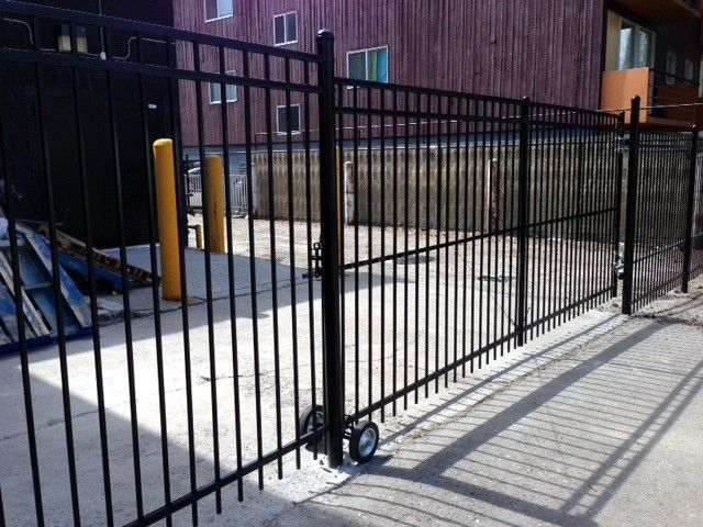 Rolling Metal Pool Fence Google Search Pool Fence