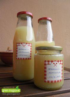 detersivo fai da te al limone per lavastoviglie
