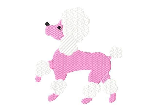 The front paw should be up like this french poodles for Poodle skirt applique template