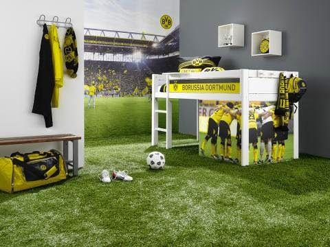 dormitorio tema fútbol