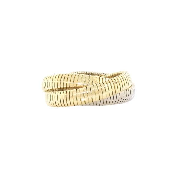 Carlo Weingrill Tubogas Rolling Bracelet in 18K via Polyvore
