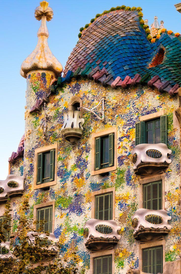 Casa Batlló en Barcelona, España