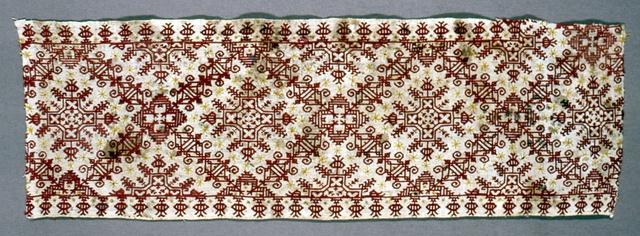 Datering: 1500-tallet Dimensioner: 24 x 75.8 cm