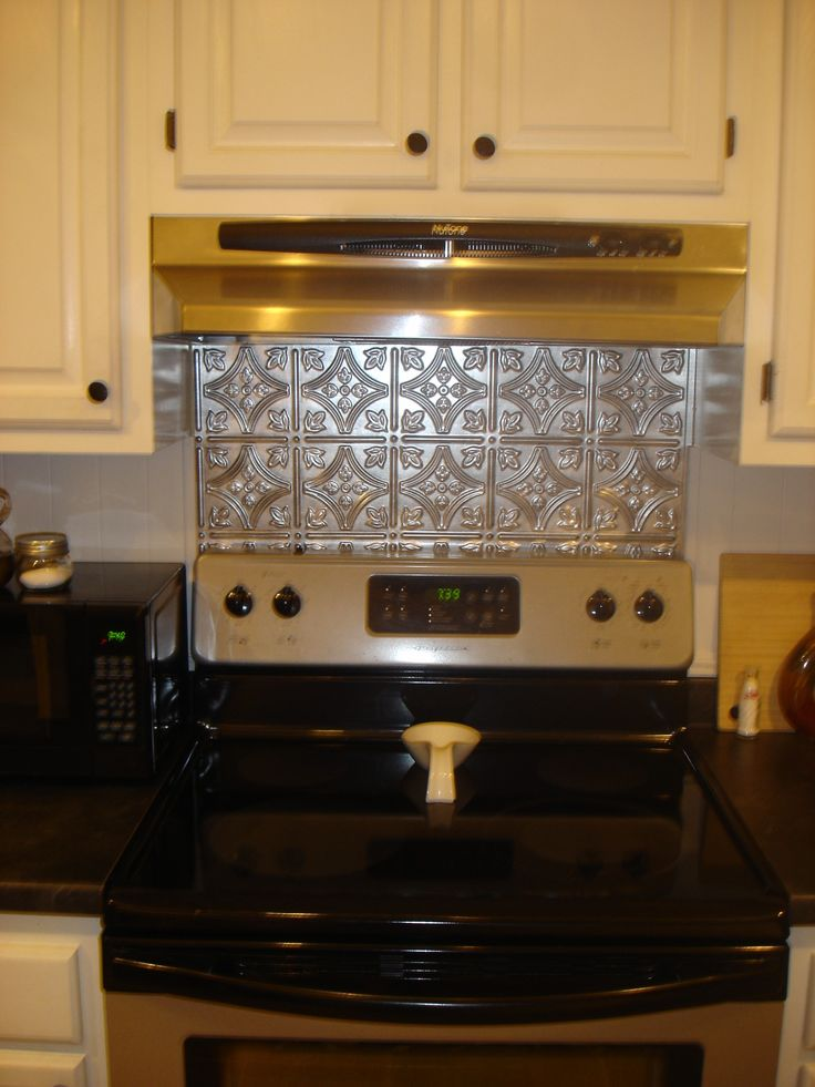 Cool Back Splash Behind Stove Behind Stove Backsplash