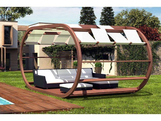 34 best images about strutture in legno on pinterest for Gazebo in legno bricoman