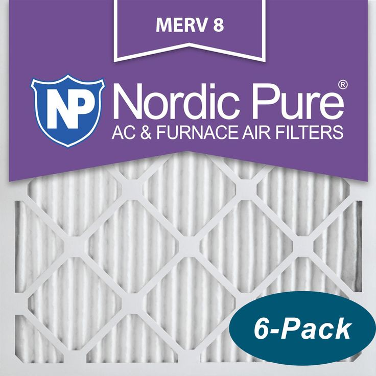 Buy cheap nordic pure merv 8 pleated furnace filter