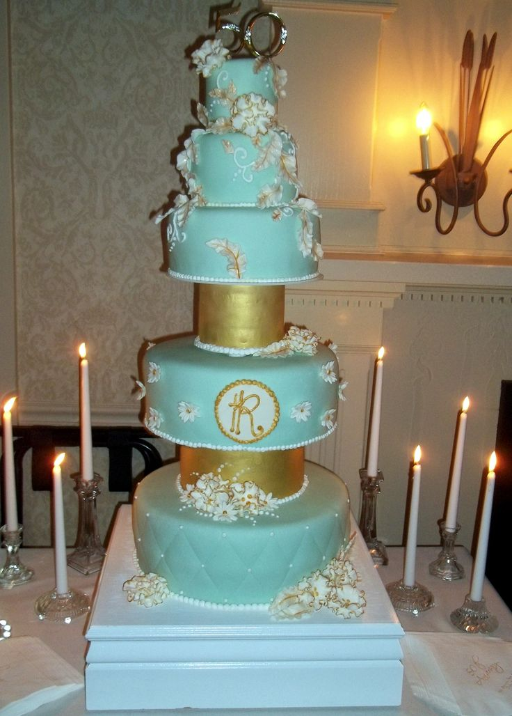 tiffany blue and gold wedding cake 84 best images about wedding cakes on 20992