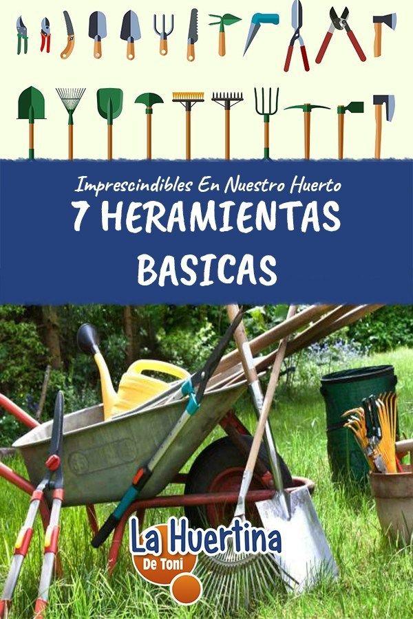 ¿Qué Herramientas Necesito Para Empezar En Mi Huerta? - La Huertina De Toni Compost, Manhattan Project, Delaware, Bonsai, Garden Tools, Villa, Projects, Ideas, Gardens
