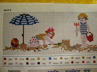 Χειροτεχνήματα: Παιδικά σχέδια για σταυροβελονιά - Children cross stitch patterns