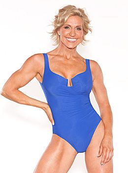 Tosca Reno - this is why my preferred exercise is weight training.  It keeps you looking like this at age 50!