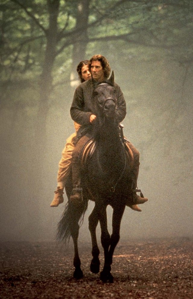 first knight - Lancelot/Guinevere  Saw this at a very tragic time in my life.  Cried through the whole entire thing.  Love, Betrayal, Cheating, Sacred Vows