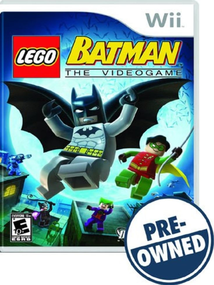 Lego Batman: The Videogame — PRE-Owned - Nintendo Wii