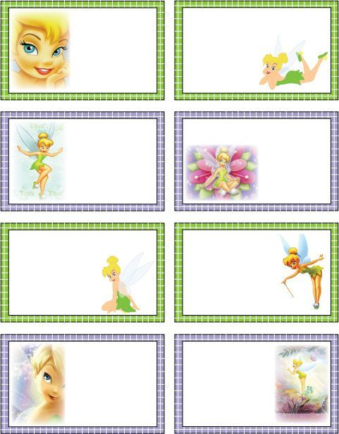 Tinkerbell tags are great for favors, prizes or whatever!