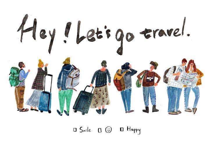 黑秀網 HeyShow.com - 台灣設計師入口網站,設計人與設計創意作品大本營! > 設計畫廊 > 哇哈工作室 > hey!let's go travel