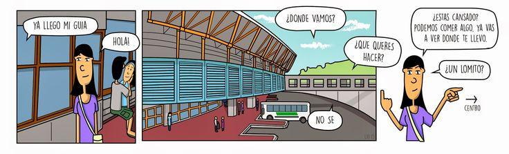 Como perderse en Córdoba - Salida