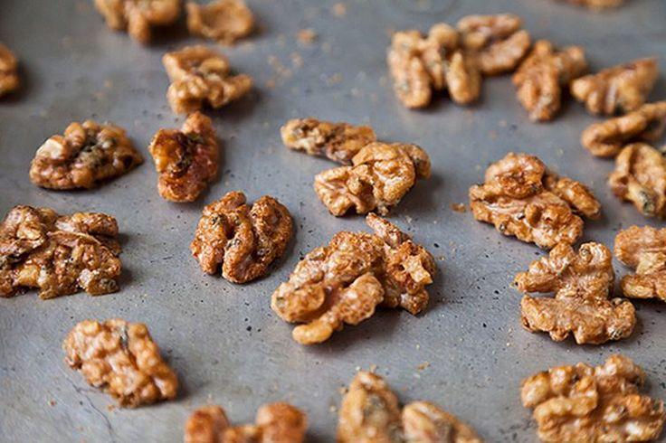 Sage-Candied Walnuts
