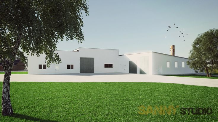Zameranie a 3D vizualizácie priemyselného areálu v Diakovciach.