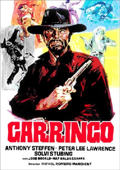 "Dead Are Countless (1969) ""Garringo"" (original title) Stars: Anthony Steffen, Peter Lee Lawrence, Solvi Stubing ~  Director: Rafael Romero Marchent"