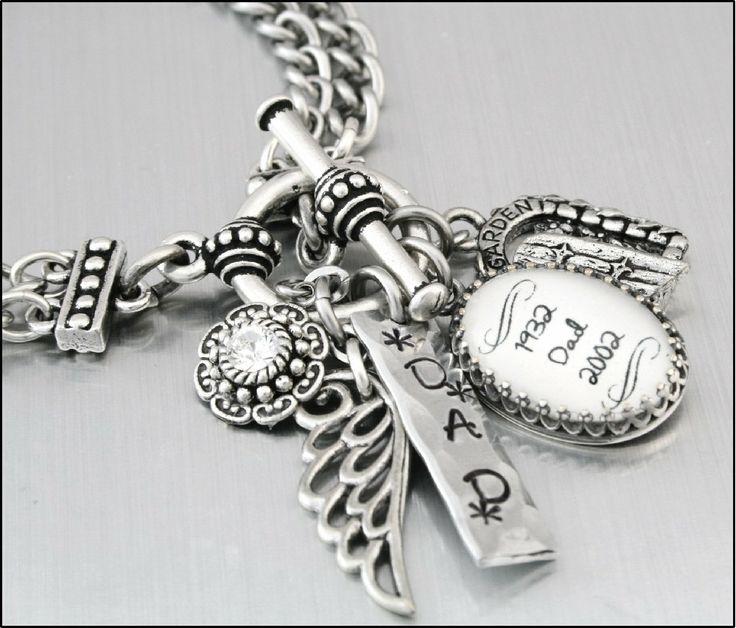 Memory Charm Bracelets: 17 Best Images About Memory Bracelet Charms On Pinterest