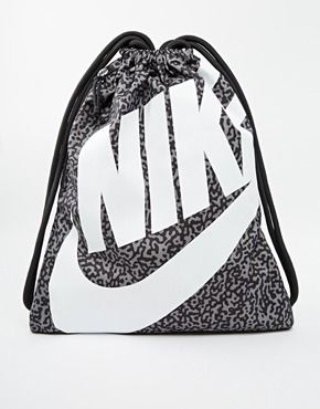 Nike Heritage Gym Bag with Print