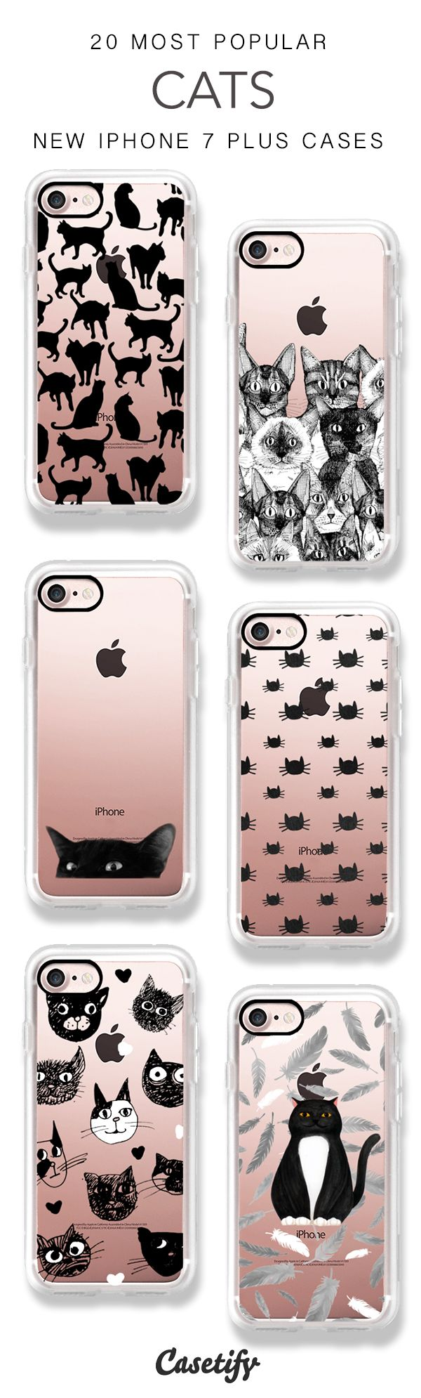 Cats are connoisseurs of comfort. 20 Most Popular CATS iPhone 7 Cases & iPhone 7 Plus Cases here >  https://www.casetify.com/artworks/02IfT1nUyX