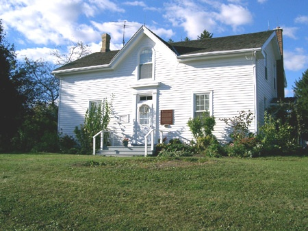 Historic House Museum  National Historic Site Adelaide Hunter Hoodless Homestead, St George, ON Canada.    http://www.adelaidehoodless.ca