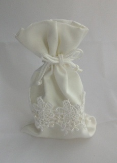 Lace Bag with Candle