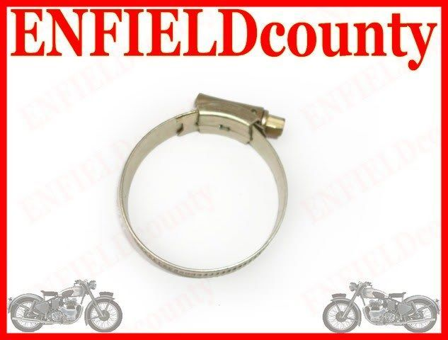 2 ROYAL ENFIELD AIR FILTER HOSE PIPE CONNECTING CLIP