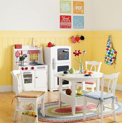 Cute play kitchen