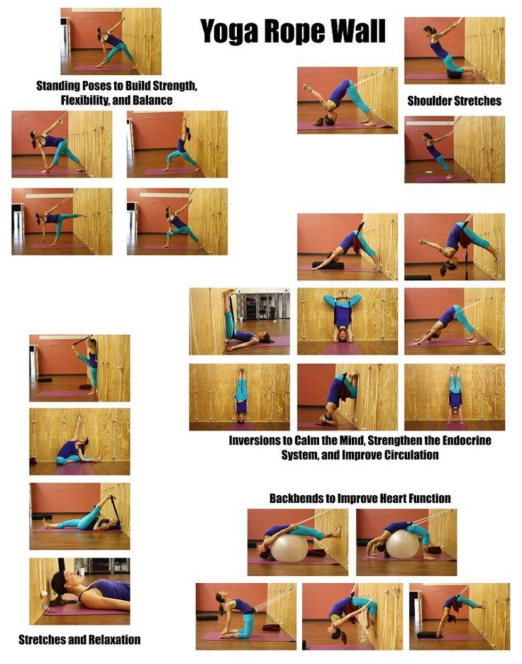 Studio Seva - Yoga Wall - Yoga Kurunta. Would like to try this!