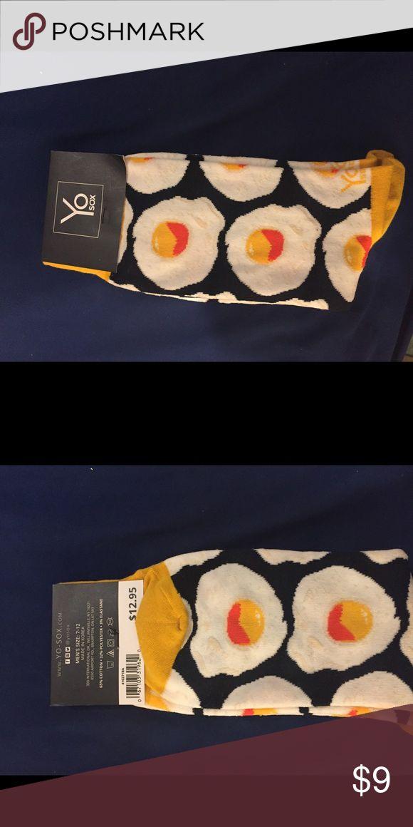 YO SOX men's egg socks brand new Brand new with tags retails $12.95 size 7–12 men Underwear & Socks Casual Socks