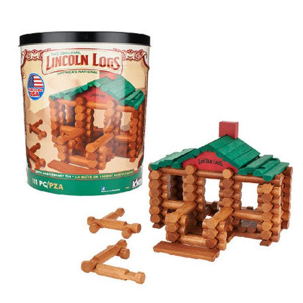 Lincoln Logs | 100th Anniversary Tin