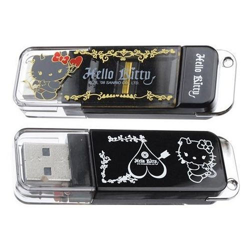 No More Worry On Data Theft! Hello Kitty I-Stamp Fingerprint Recognition Ptotects Your Data From Theft.  Licensed by Sanrio.  With 3-in-1 functions: fingerprint recognition and electronic stamping functions.  Adjustable public and private encrypted partitions / capacities.  With double protection of personal fingerprint recognition and password for security.  Your personal Hello Kitty flash electronic stamp.  Store your private data in encrypted section that only you can access to these ...